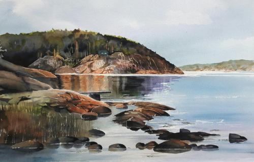Alsbäck vid Gullmarsfjorden