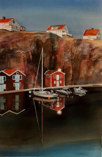 Robbans båt vid bryggan